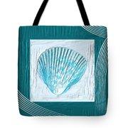 Turquoise Seashells Xxiii Tote Bag by Lourry Legarde