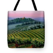 Tuscan Dusk Tote Bag by Michael Swanson