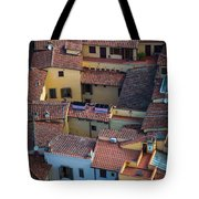 Tuscan Rooftops Tote Bag by Inge Johnsson