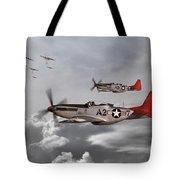 Tuskegee Airmen Tote Bag by J Biggadike