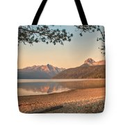 Twilight At Redfish Lake  Tote Bag by Robert Bales