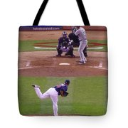 Twins Vs White Sox 2 Tote Bag by Todd and candice Dailey