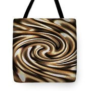 Twisted Chains Tote Bag by Crystal Harman