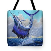 Twisted Off0013 Tote Bag by Carey Chen
