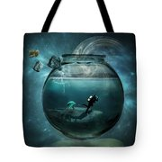 Two Lost Souls Tote Bag by Erik Brede