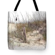 Tybee Lighthouse Tote Bag by Marcia Colelli