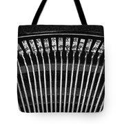 Typewriter Keys III Tote Bag by Tom Mc Nemar