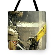 Tyrannosaurus Wrecks Tote Bag by Joe Jake Pratt