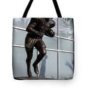 Uf Heisman Winner Tim Tebow  Tote Bag by Lynn Palmer