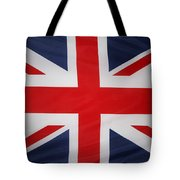 Uk Flag Tote Bag by Les Cunliffe