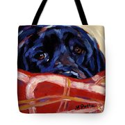 Under Cover Tote Bag by Molly Poole