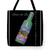 Under the Sea Message in a Bottle Tote Bag by Betsy C  Knapp