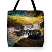Underground Waterfall 2 Tote Bag by Mark Papke