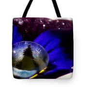Underwater Universe Unfolding Tote Bag by Lisa Knechtel