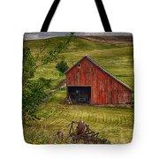 Unique Barn In The Palouse Tote Bag by Priscilla Burgers