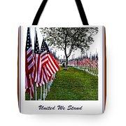 United We Stand Tote Bag by Ella Kaye Dickey