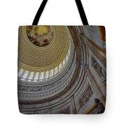Unites States Capitol Rotunda Tote Bag by Susan Candelario