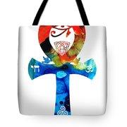 Unity 16 - Spiritual Artwork Tote Bag by Sharon Cummings