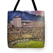 University Of Colorado Boulder Go Buffs Tote Bag by James BO  Insogna