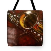 Unprotected Sax Tote Bag by Sean Connolly