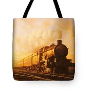Up Express To Paddington Tote Bag by Mike  Jeffries