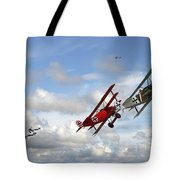 Up Sun Tote Bag by Pat Speirs