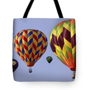 Up Up And Away Tote Bag by Marcia Colelli