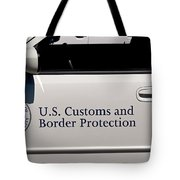 U.s. Customs And Border Protection Tote Bag by Tikvah's Hope