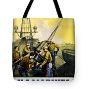 US Marines Tote Bag by Leon Alaric Shafer