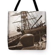 USS Constitution Tote Bag by Catherine Reusch  Daley