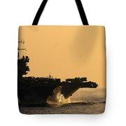 Uss Enterprise Tote Bag by Mountain Dreams