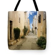 Valbonne - History And Charm  Tote Bag by Christine Till