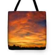 Valentine Sunset Tote Bag by Tammy Espino