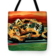 Valentino Rossi The Doctor Tote Bag by Paul Meijering