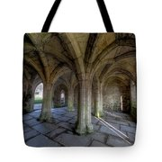 Valle Crucis Chapter House  Tote Bag by Adrian Evans