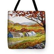 Valley View By Prankearts Tote Bag by Richard T Pranke