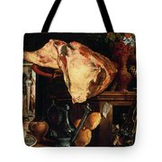 Vanitas Still Life Tote Bag by Pieter Aertsen