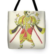 Varaha, Engraved By De Marlet Tote Bag by French School