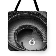 Vatican Stairs Tote Bag by Adam Romanowicz