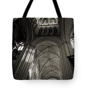 Vaults Of Rouen Cathedral Tote Bag by RicardMN Photography