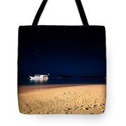 Velvet Night On The Island Tote Bag by Jenny Rainbow