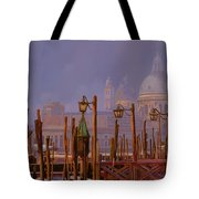 Venezia E La Nebbia Tote Bag by Guido Borelli