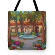 Ventura Mission Tote Bag by Diane McClary