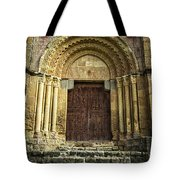 Vera Cruz Door Tote Bag by Joan Carroll