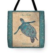 Verde Mare 4 Tote Bag by Debbie DeWitt