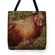 Vermont Rooster Tote Bag by Deborah Benoit