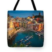 Vernazza Pomeriggio Tote Bag by Inge Johnsson