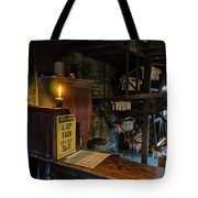 Victorian Candle Factory Tote Bag by Adrian Evans