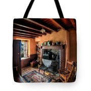 Victorian Cottage Tote Bag by Adrian Evans