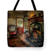 Victorian Fire Place Tote Bag by Adrian Evans